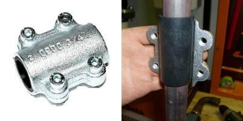 ремонтные муфты для чугунных труб