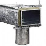 Утепление вентиляционных труб и воздуховодов: материалы и технология