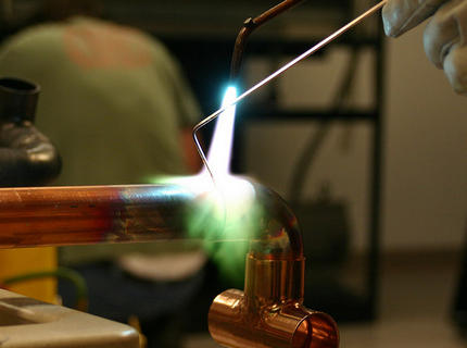соединение стальных труб отопления