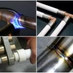 Соединение труб отопления из различных материалов