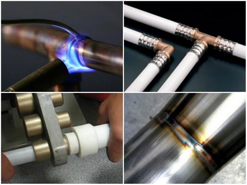 Соединение труб без сварки и резьбы. Разновидности фитингов 14
