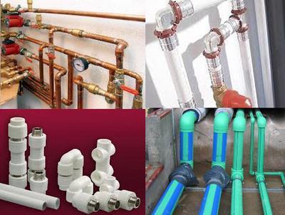 материал труб для водоснабжения