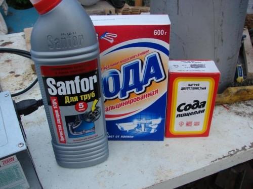 как почистить трубы канализации