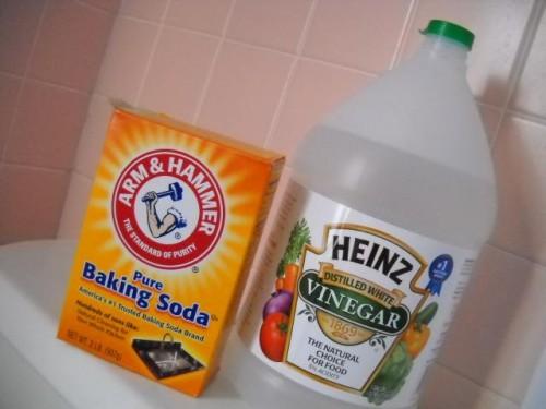 как прочистить канализационную трубу содой