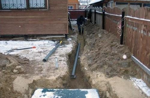 монтаж канализации из полипропиленовых труб