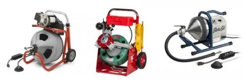 оборудование для прочистки канализационных труб