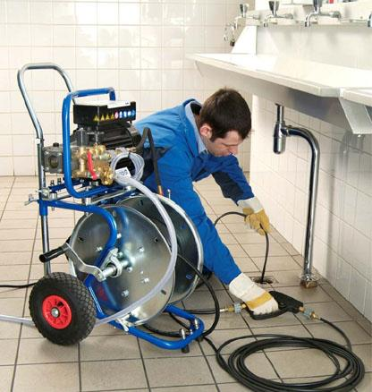 шланг прочистки труб и канализации