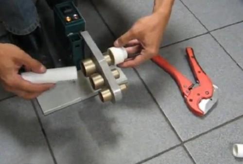 замена металлических труб на полипропиленовые
