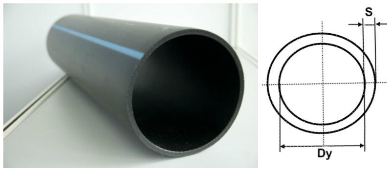 Труба водонапорная пластик