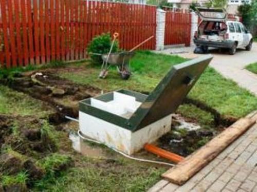 канализационные трубы в частном доме