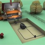 Как установить септик и канализационные трубы в частном доме