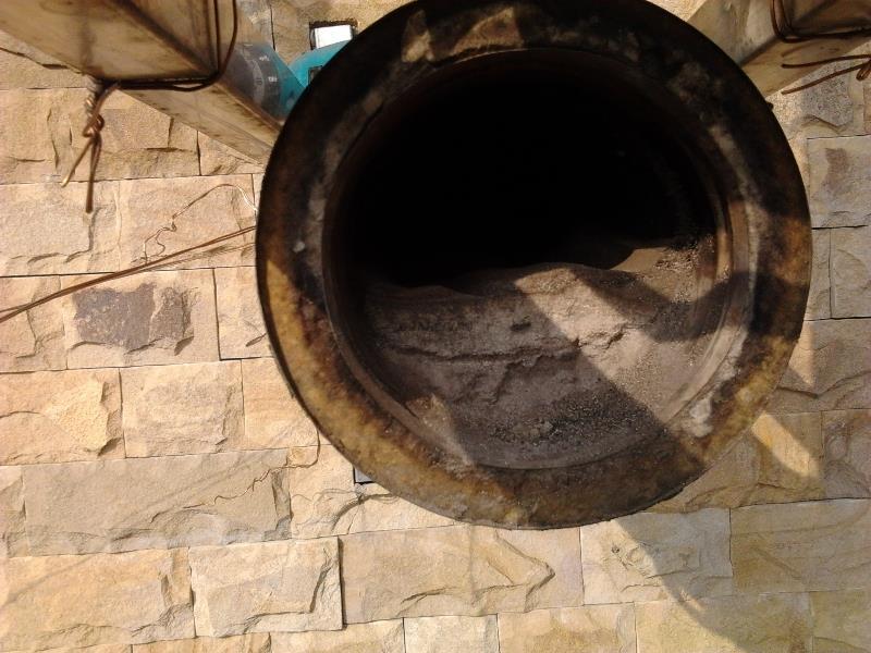 чистка дымоходов в бане