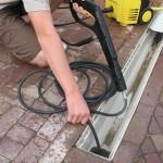 Как использовать Karcher для прочистки труб