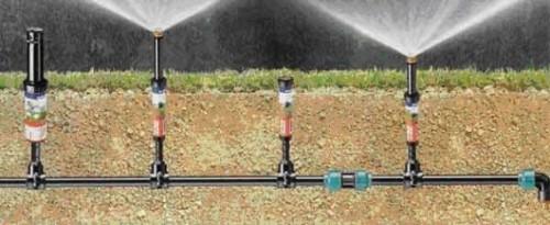 садовый водопровод из полиэтиленовых труб