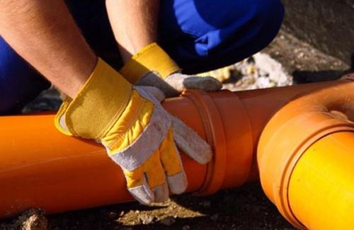 укладка труб канализации своими руками
