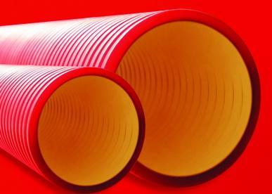 трубы двустенные пвд
