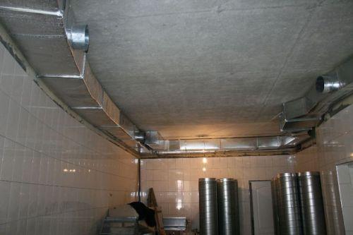 вентиляционные трубы из оцинкованной стали