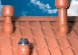 вывод вентиляционных труб на крышу