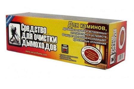 Химическое средство для чистки дымоходов