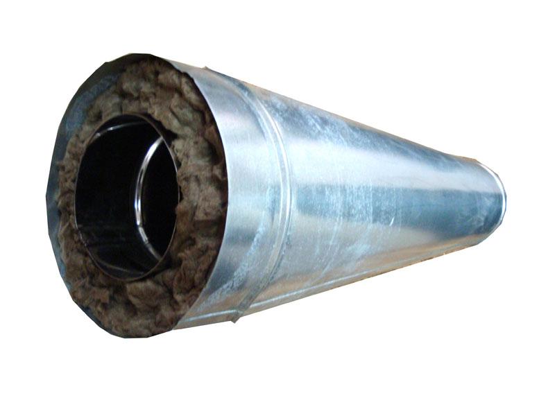 Дымовая труба из оцинковки