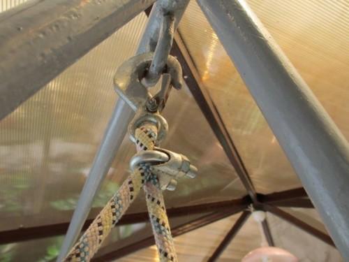 Фиксаторы для репшнура не позволят веревке «ездить»