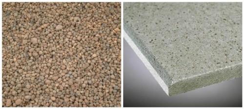 Изоматериалы: мелкий керамзит и минерит