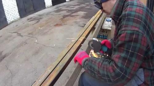 Нарезание профильных труб по размерам