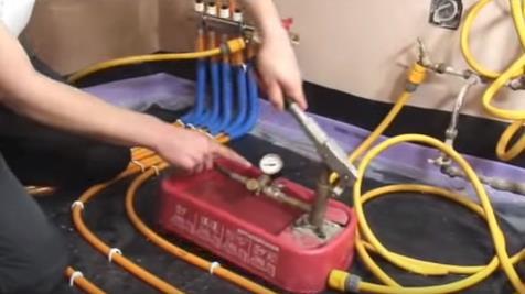 Проверка труб на герметичность и высокое давление