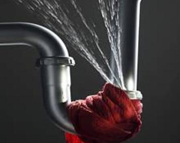 Уменьшение количества воды, поступающей в помещение