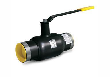 Газовый кран, устанавливаемый методом сварки