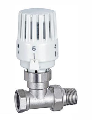 Вентиль для радиатора с регулятором температуры
