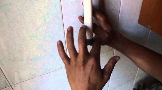 Обработка резьбы графитовой смазкой