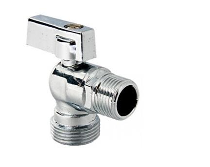 Вентиль для установки на изгибе труб