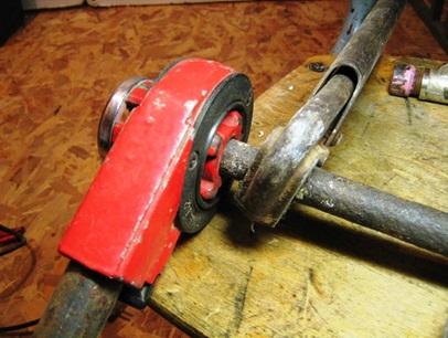 Нарезка резьбы для установки запорной арматуры