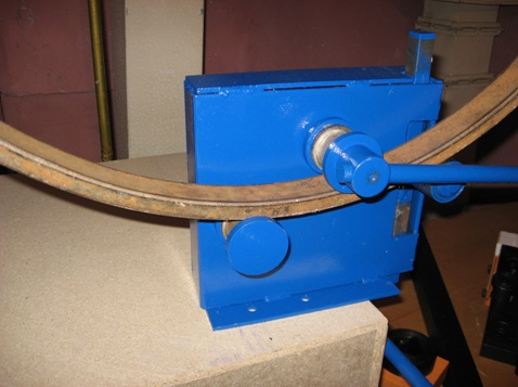 Станок для сгиба профильных труб по заданному радиусу