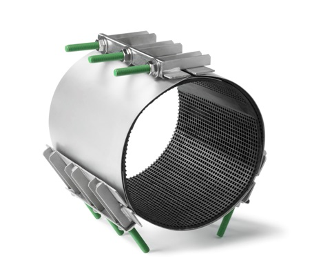 Устройство для ремонта труб большого диаметра