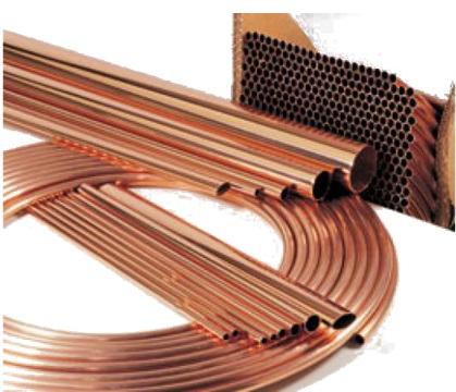 Трубы, изготовленные из меди для сборки трубопроводов