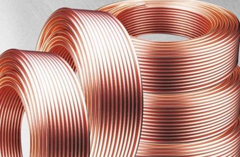 Трубы из меди, прошедшие термическую обработку