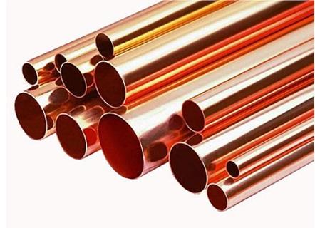 Трубы из меди для сооружения водопровода