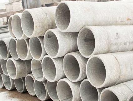 Трубы, изготовленные из смеси цемента и асбеста