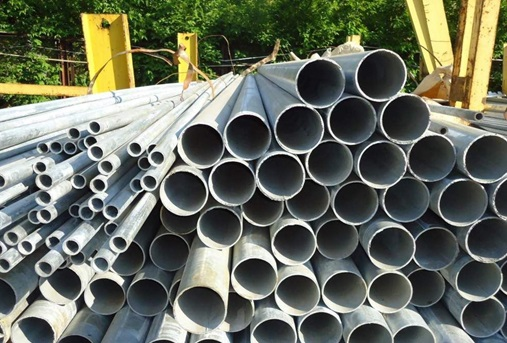 Стальные трубы с защитным покрытием из цинка
