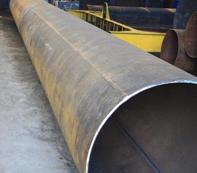 Труба из стали, изготовленная при помощи сварки