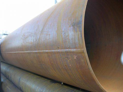 Электросварная труба с прямым швом