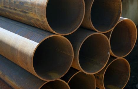 Стандартные стальные трубы для обустройства водопровода