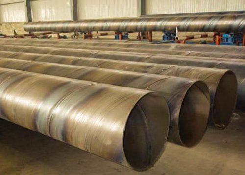 Электросварные трубы со швом, расположенным по спирали