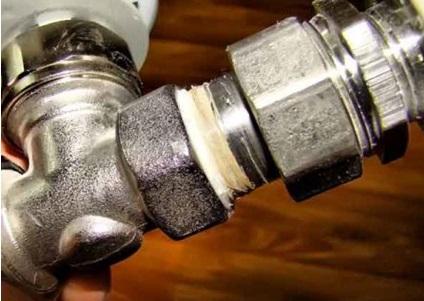 Соединение стальных труб резьбовыми фитингами