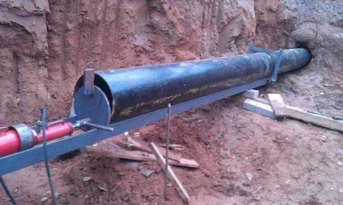 Сооружение канализации бестраншейным способом