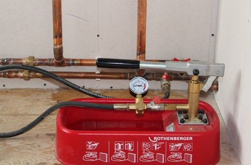 Опрессовка отопления воздухом своими руками фото 232