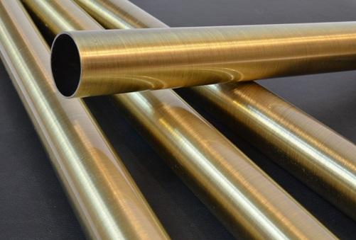 Трубы, изготовленные из латуни