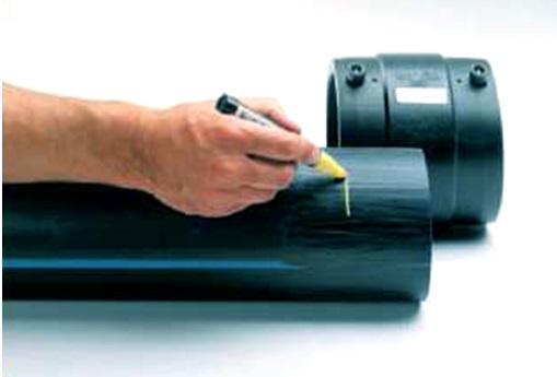 Правильное соединение труб и электросварного фитинга